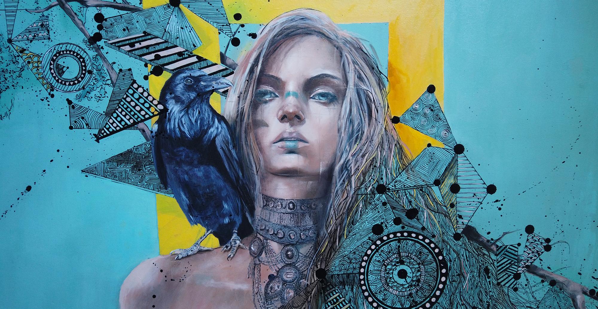 peinture à l'huile par Priscilla Seiller