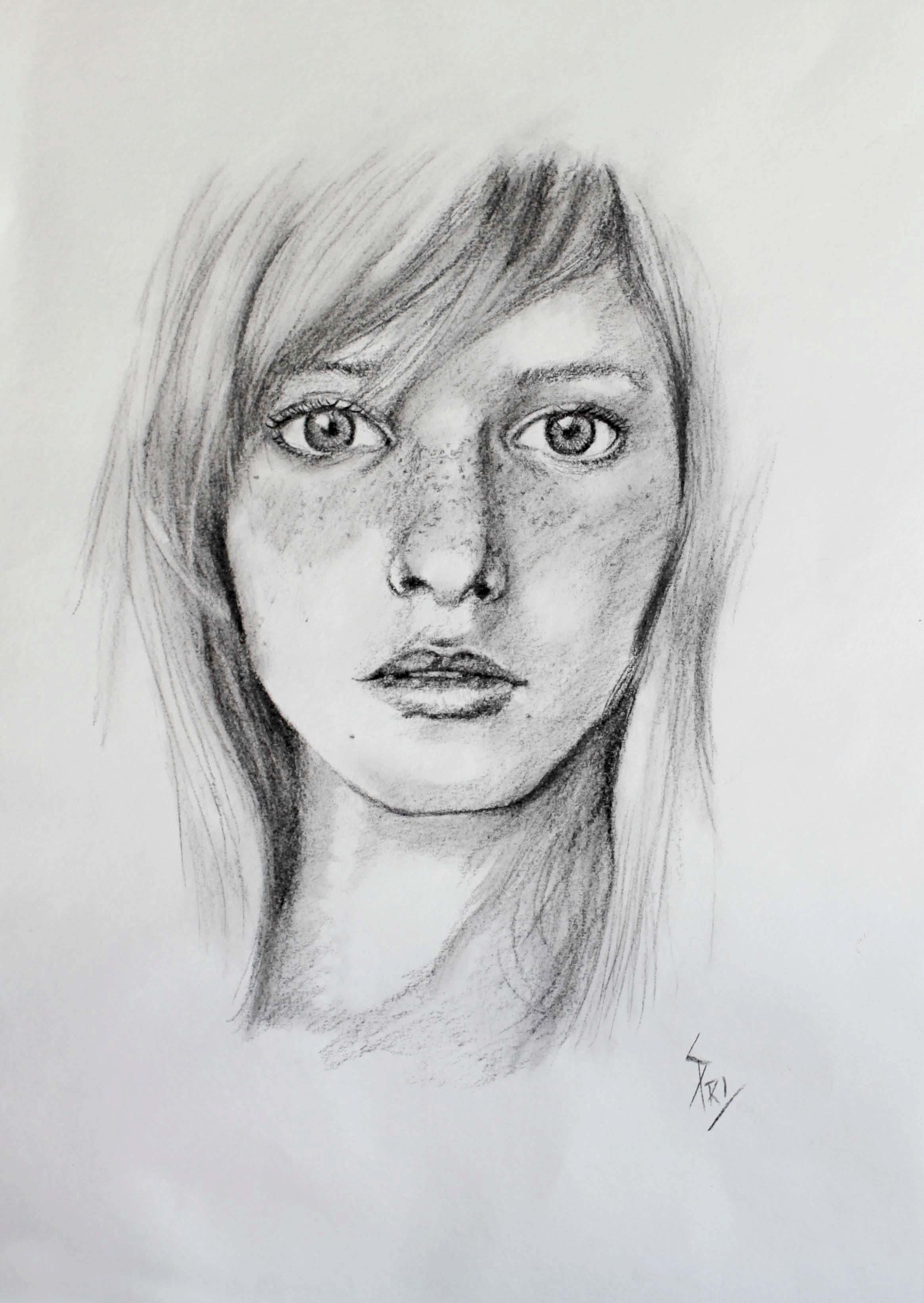 Dessin par Priscilla Seiller, Artiste-Peintre