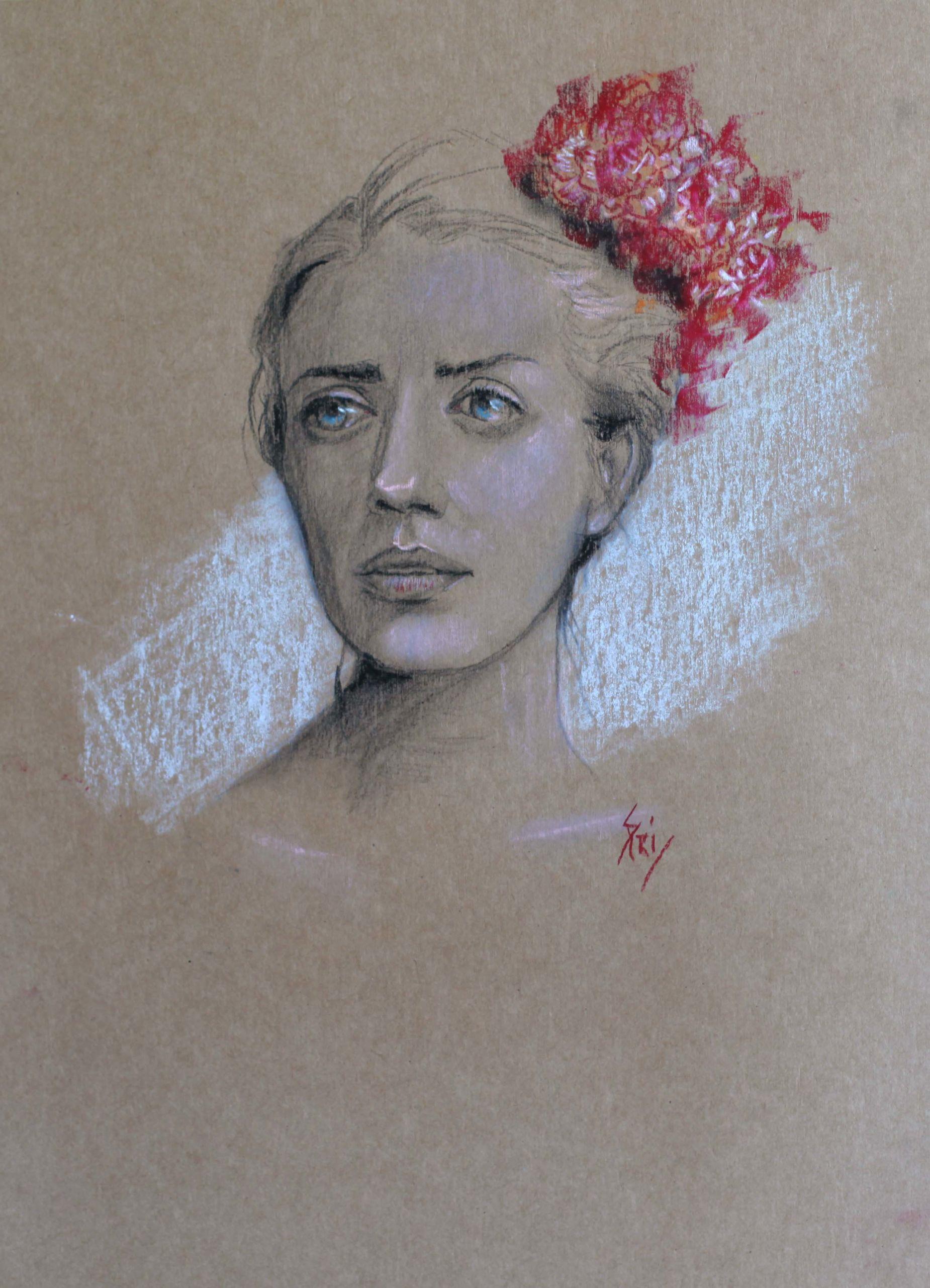 Pastel par Priscilla Seiller, artiste-peintre