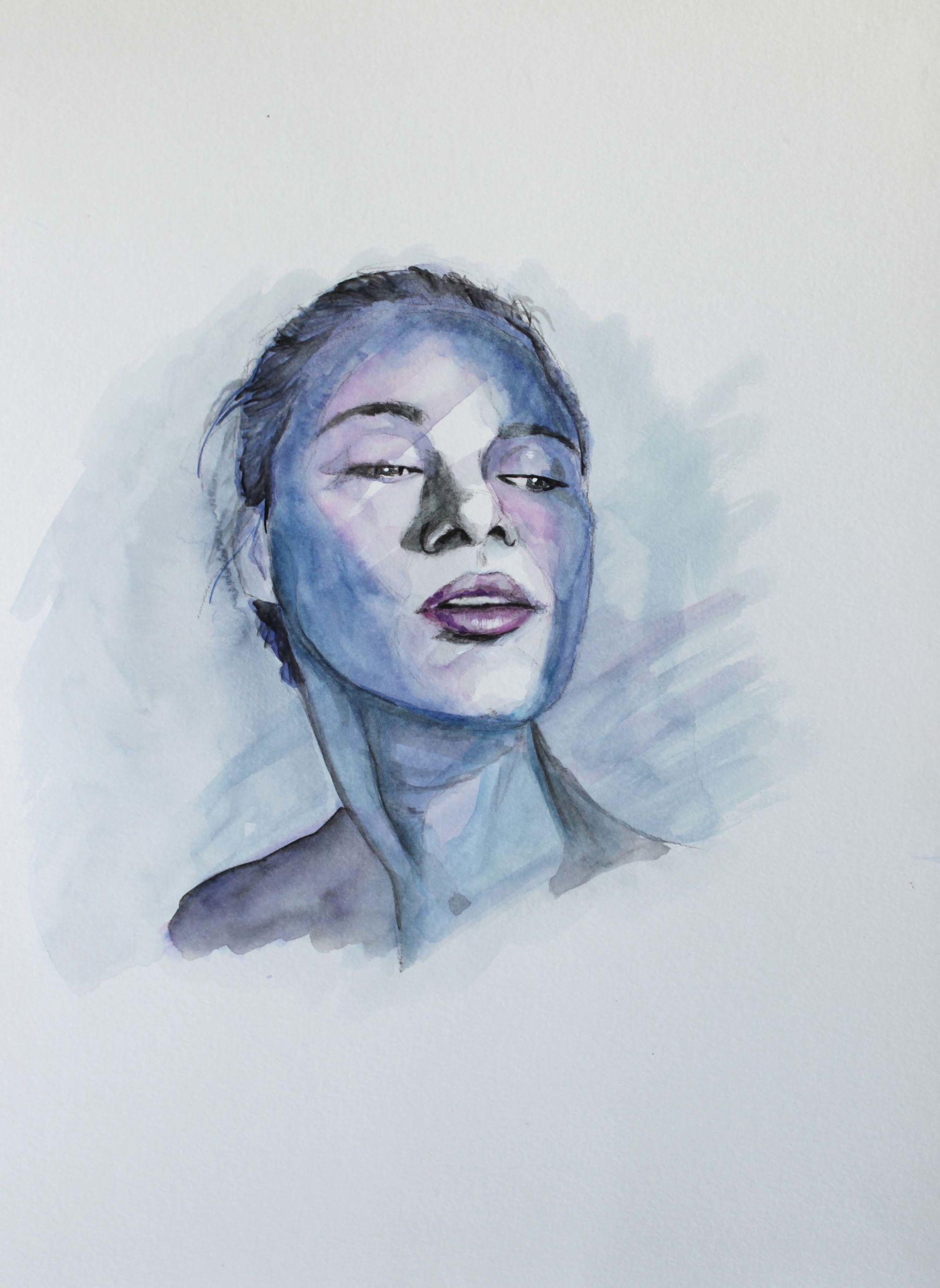 Aquarelle par Priscilla Seiller, artiste peintre