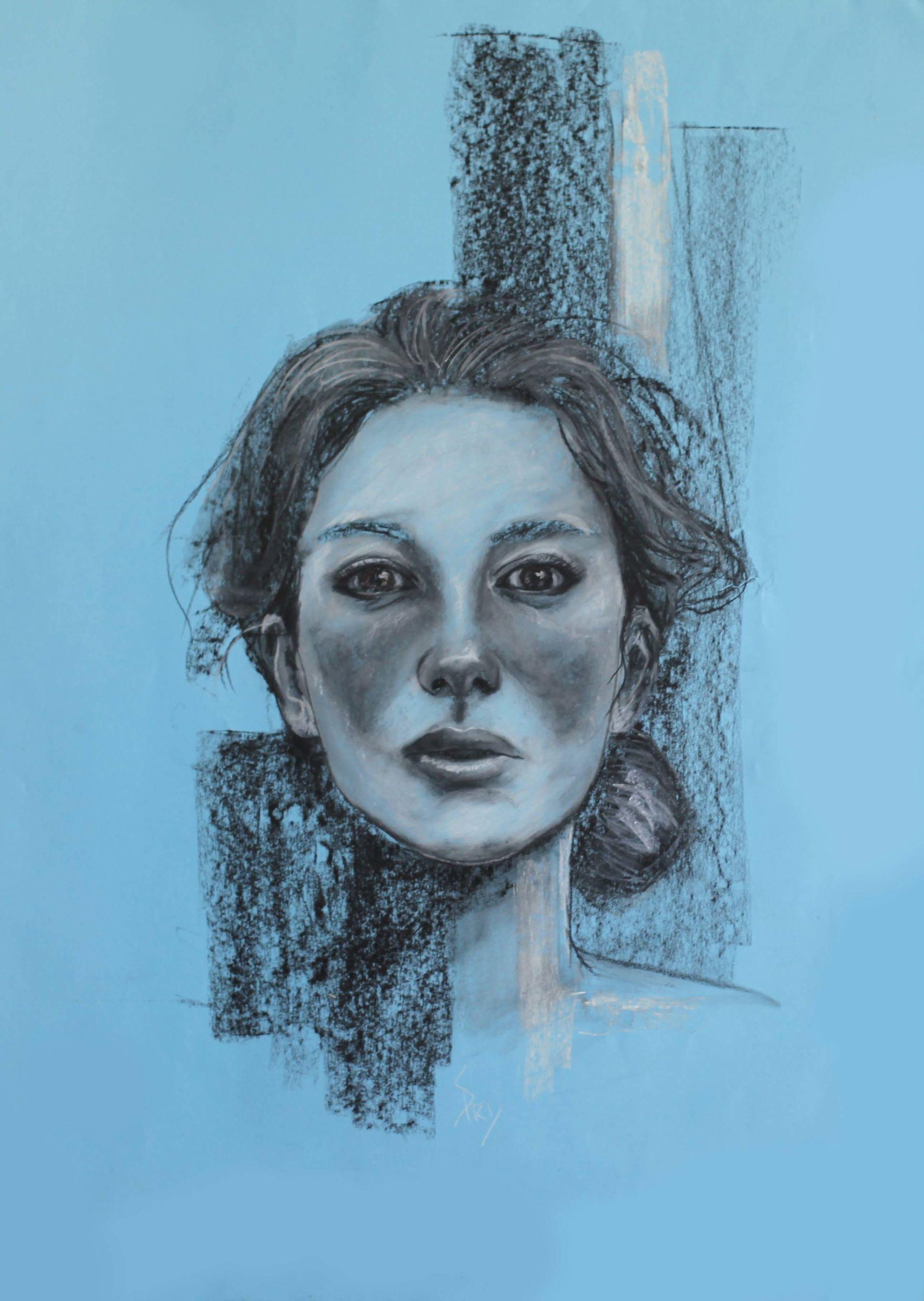 Dessin créé par l'artiste-peintre Priscilla Seiller