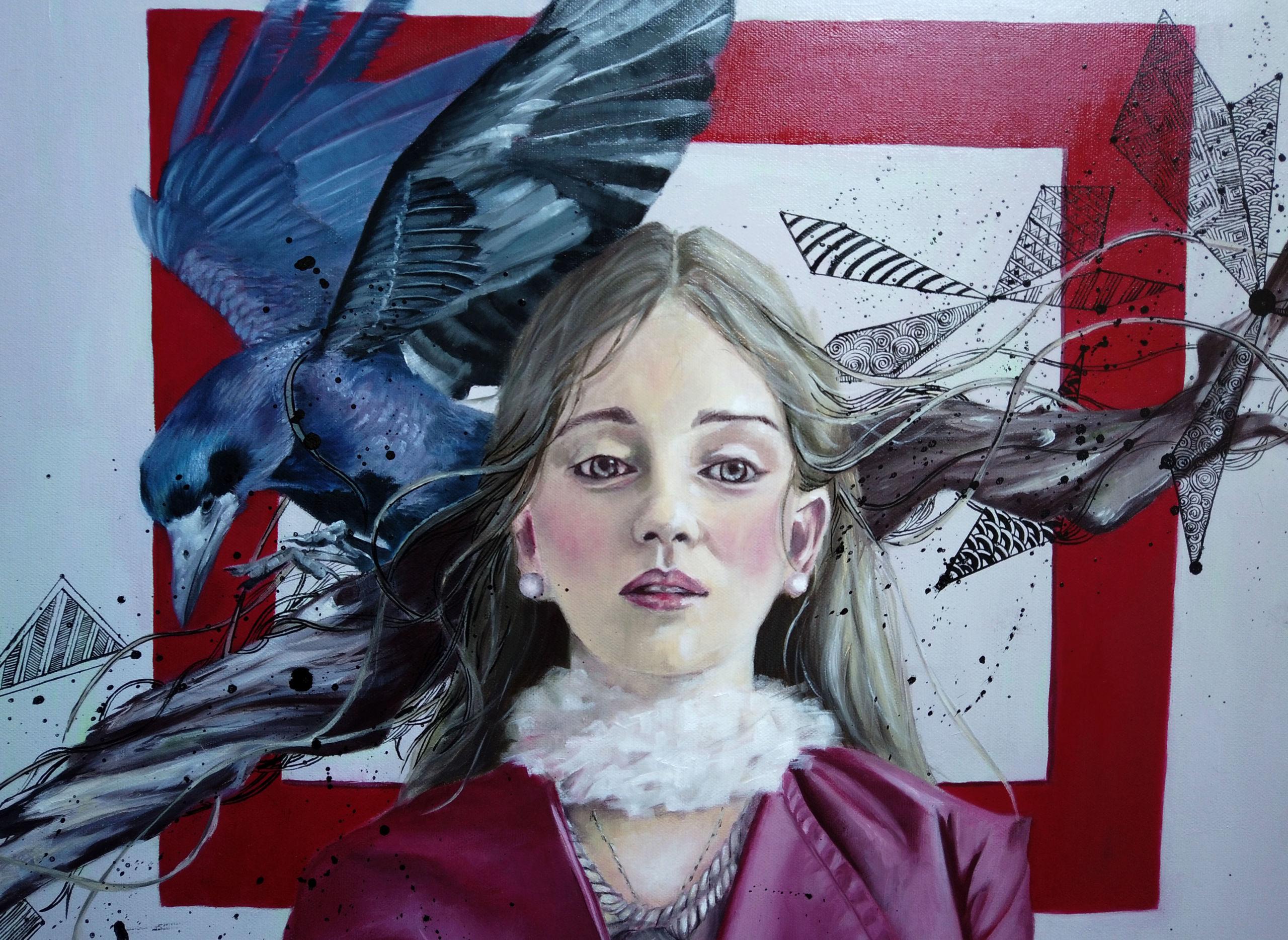 Peinture à l'huile par Priscilla Seiller, artiste-peintre à Paris