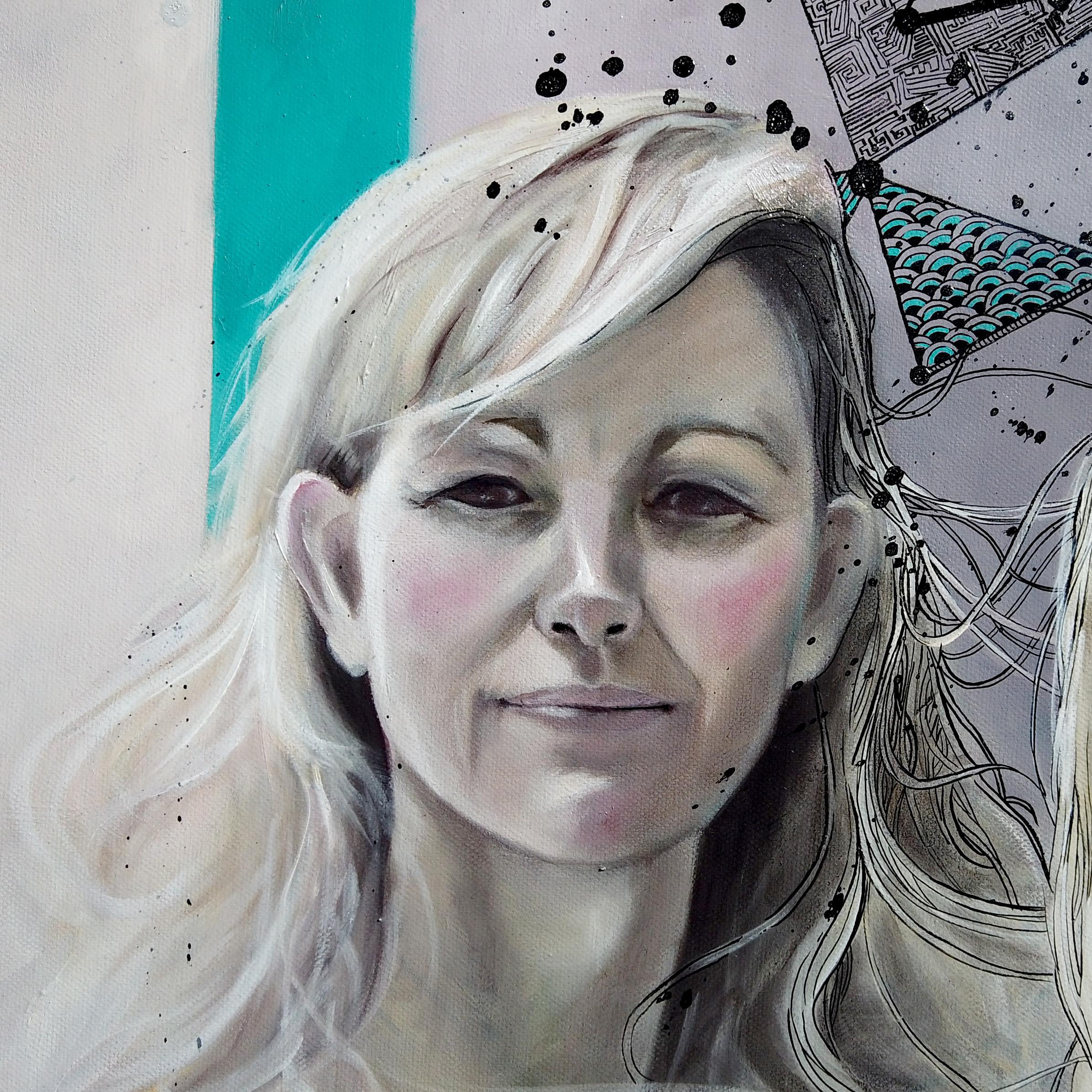 Peinture à l'huile par l'artiste peintre Priscilla Seiller
